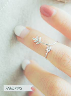★FREE SIZE★안느 knuckle ring